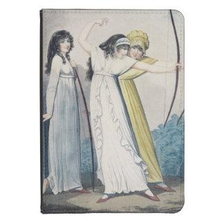 Archers, grabados por J.H. Wright (fl.1795-1838) Funda Para Kindle