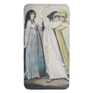 Archers, grabados por J.H. Wright (fl.1795-1838) Bolsillo Para Galaxy S4