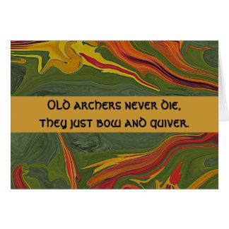 archers humor card