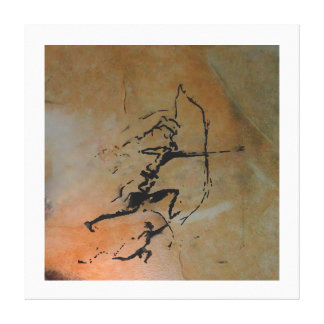 Archers of Remigia Cave Canvas Print