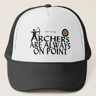Archers On Point Trucker Hat