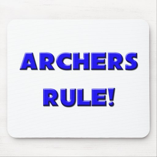 Archers Rule! Mouse Pad