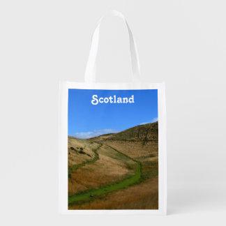 Archer's Seat in Edinburgh Reusable Grocery Bag