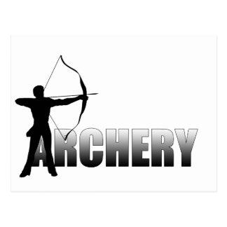 Archers Summer Games Archery 2012 Postcard