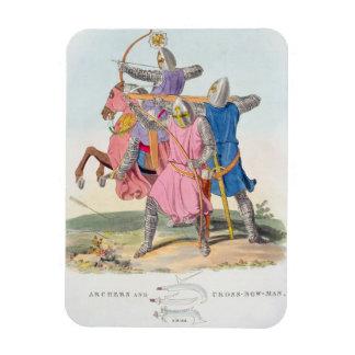 Archers y un ballestero, 1312, de 'AR antigua Imán De Vinilo