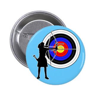 Archery3 Pinback Button