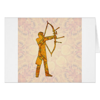 Archery 02 greeting card