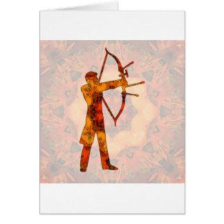 Archery 05 greeting card