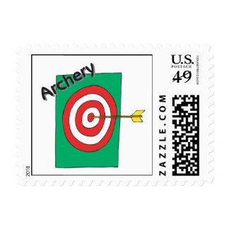 Archery 3 postage stamp