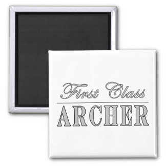 Archery and Archers : First Class Archer Magnets