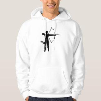 Archery archer hooded sweatshirt