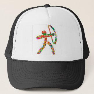 ARCHERY Bow Arrow Trucker Hat