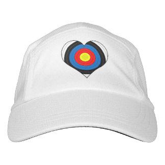 Archery Cap Target Heart