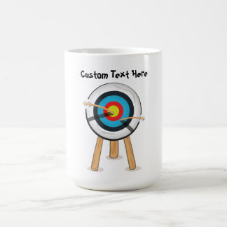 Archery cartoon mug