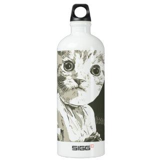 Archery cat aluminum water bottle