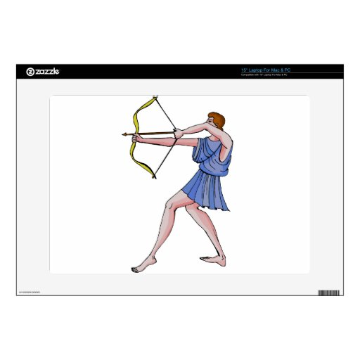 """ARchery champion 396 BC Decals For 15"""" Laptops"""