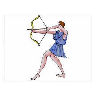 ARchery champion 396 BC Postcard