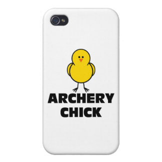 Archery Chick iPhone 4 Cover