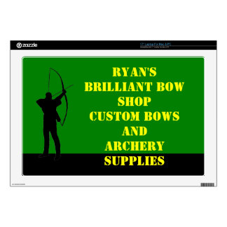 Archery club laptop decal