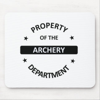 Archery Department. Mouse Pad