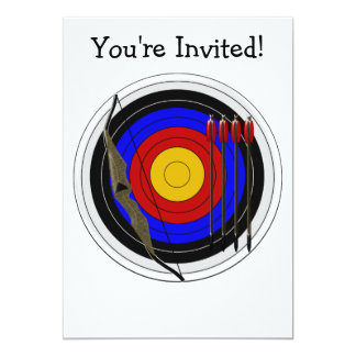 Archery Design Any Occasion Card