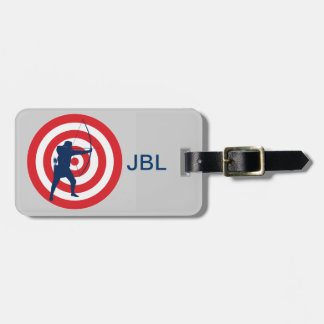 Archery Design Luggage Tags