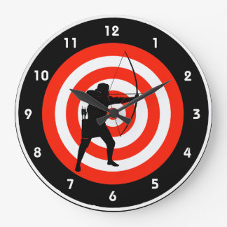 Archery Design Wall Clock