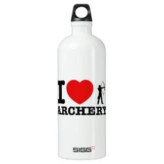 Archery Designs Aluminum Water Bottle