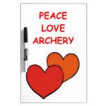 archery Dry-Erase whiteboard