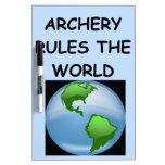 archery Dry-Erase whiteboards