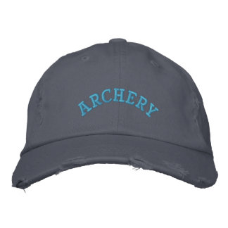 ARCHERY EMBROIDERED BASEBALL CAP
