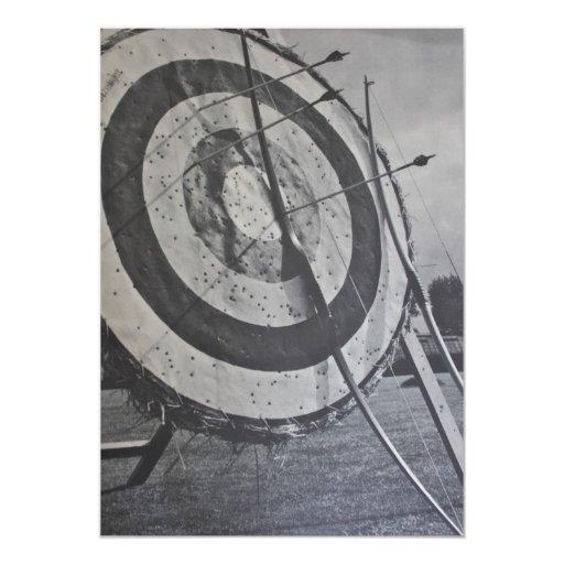Archery Equipment Invitation