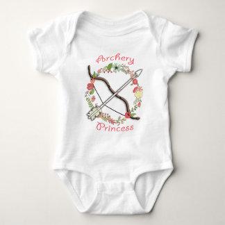 Archery Flower Princess Baby Bodysuit
