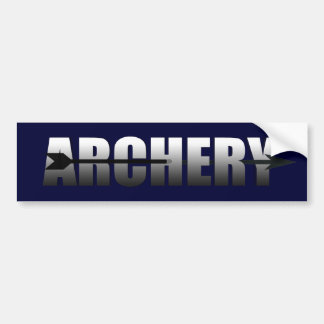 Archery gifts for Bow and Arrow addicts Car Bumper Sticker
