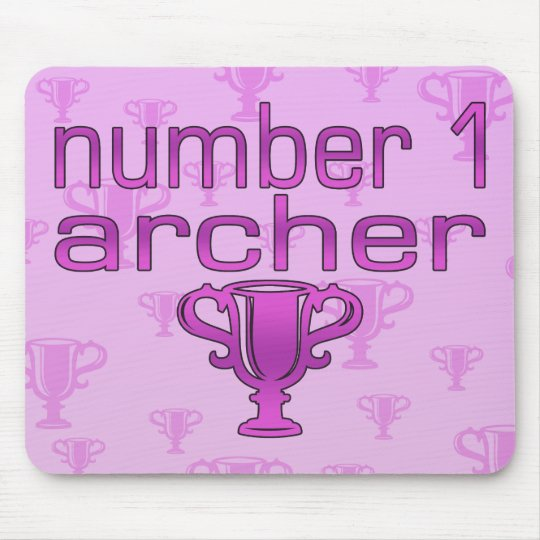 Archery Gifts for Her: Number 1 Archer Mouse Pad