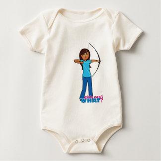 Archery Girl Baby Bodysuit