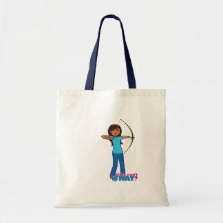 Archery Girl Tote Bag