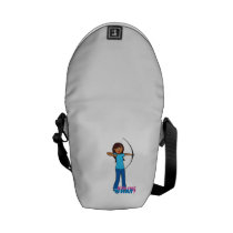 Archery Girl Courier Bags