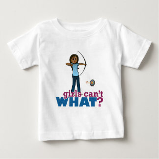 Archery Girl in Blue - Dark Baby T-Shirt