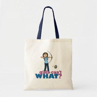 Archery Girl in Blue - Light Bag