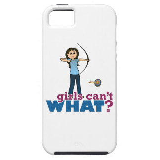 Archery Girl in Blue - Light iPhone SE/5/5s Case