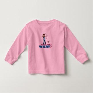 Archery Girl in Blue - Light Toddler T-shirt