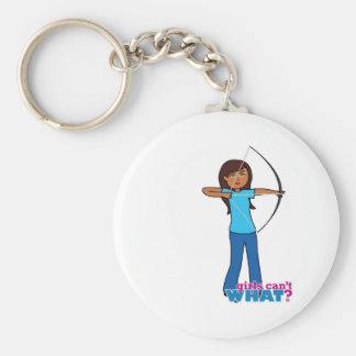 Archery Girl Key Chains