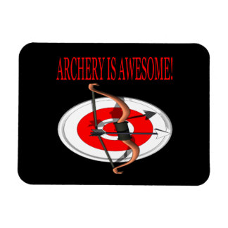 Archery Is Awesome Rectangular Photo Magnet