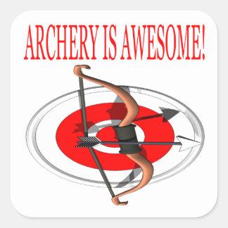 Archery Is Awesome Sticker