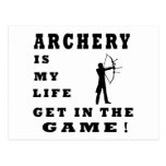Archery Is My Life Postcard