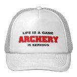 Archery is serious trucker hats