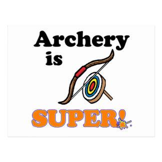 archery is super postcard