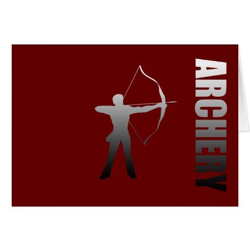 Archery London to Rio de Janeiro Archers Greeting Card