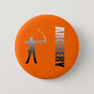 Archery London to Rio de Janeiro Archers Pinback Button